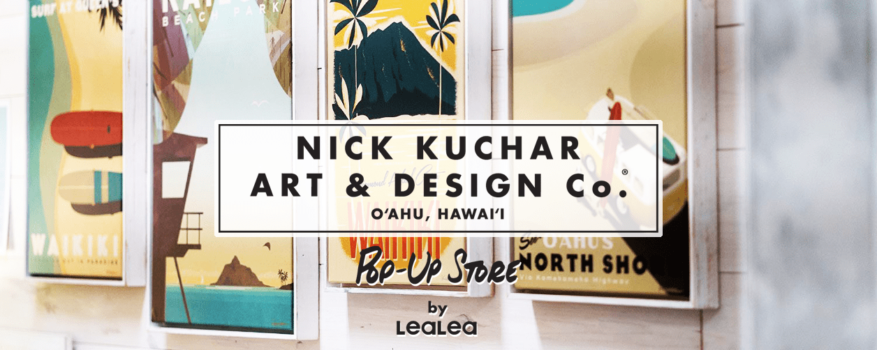 Nick Kuchar Pop-Up Store by LeaLea